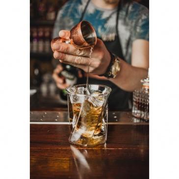 Szklanka whisky z podw.sc.300ml   cristallo 5509