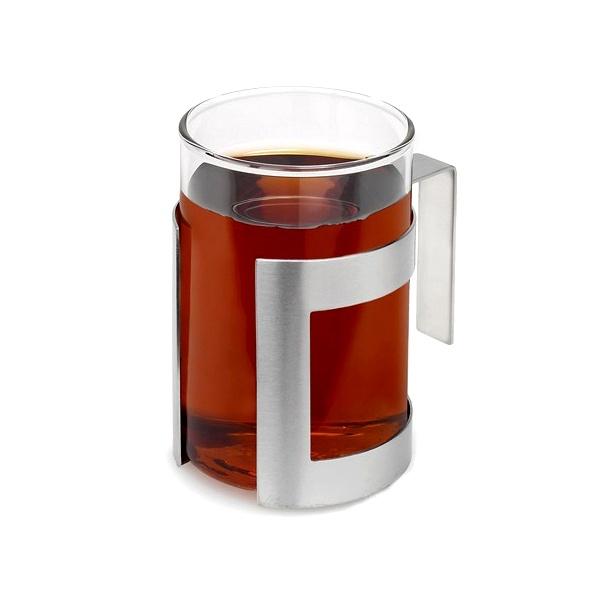 Szklanka ze stalowym uchwytem 0,2 l Blomus Darjee 63124