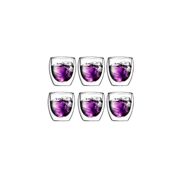 Szklanki 0,25 l Bodum Pavina 6 szt. BD-4558-10-12