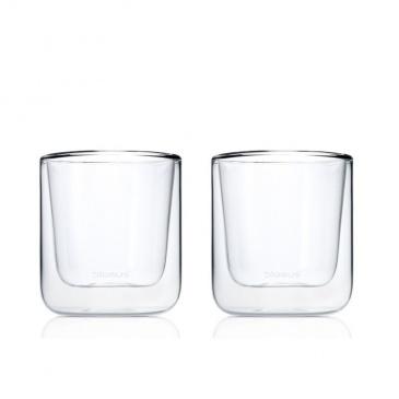 Szklanki termiczne do kawy 200ml 2szt Blomus Nero