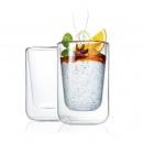 Szklanki termiczne do cappuccino 250ml Blomus Nero