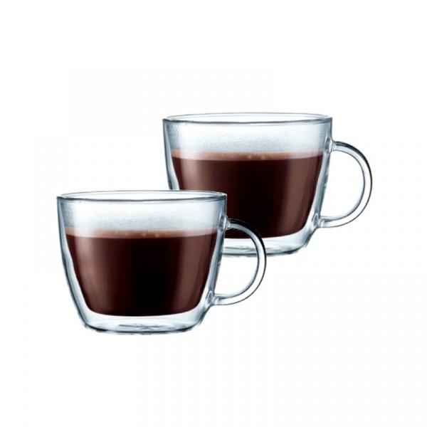 Szklanki izolowane do latte 0,45 l Bodum Bistro 2 szt. BD-10608-10