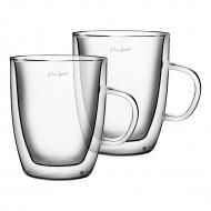 Szklanki termiczne 2szt. 420ml Lamart Vaso przezroczyste
