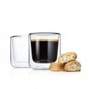 Szklanki na kawę termiczne Blomus Nero 200ml