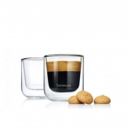 Szklanki termiczne do espresso 0,08L 2szt Blomus Nero