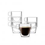 Szklanki termiczne do espresso 6szt. 150ml Senso 27435