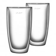 Szklanki termiczne do kawy 2szt. 380ml Lamart Vaso przezroczyste