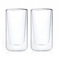 Szklanki termiczne do latte 0,32L Blomus Nero