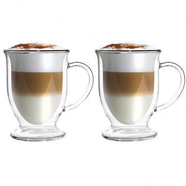 Szklanki termiczne do latte 2szt 250ml