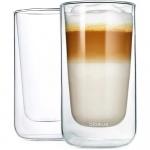 Szklanki termiczne do latte 2szt 320ml Blomus Nero