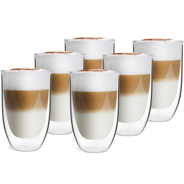 szklanki termiczne do latte amo vialli design 6szt