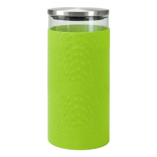 Szklany pojemnik do przechowywania Contento Storah L zielony CO-655132