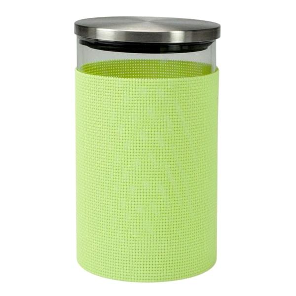 Szklany pojemnik do przechowywania Contento Storah M zielony CO-655142