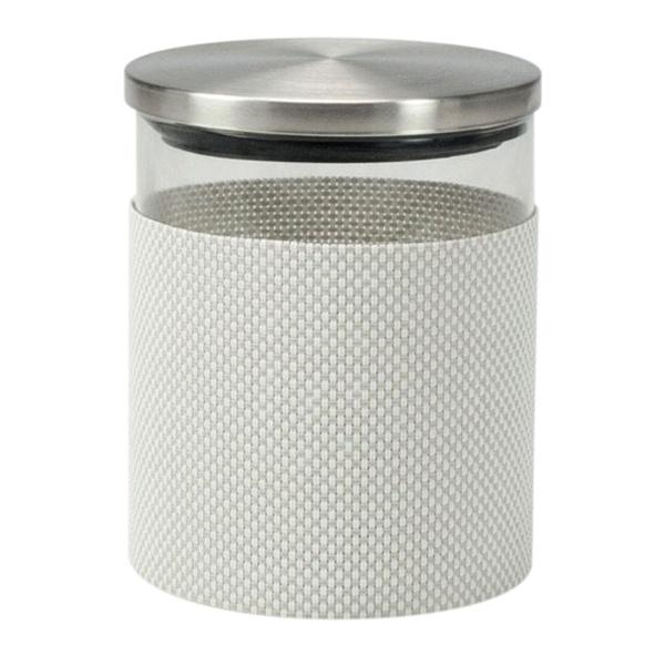 Szklany pojemnik do przechowywania Contento Storah S szary CO-655151