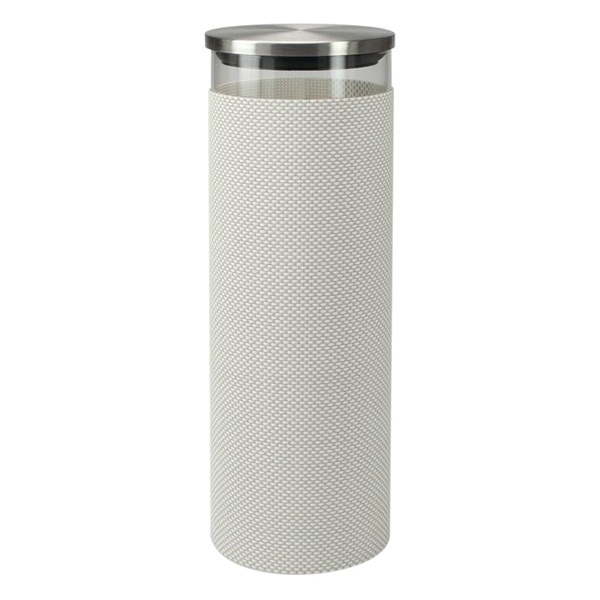 Szklany pojemnik do przechowywania Contento Storah XL szary CO-655121