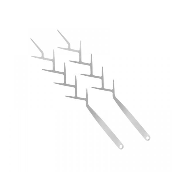 Szpikulce do szaszłyków 2 szt. Sagaform BBQ SF-5017423