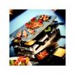 Szwajcarski grill Raclette 8 INOX z kamienną płytą firmy SPRING FRS0145