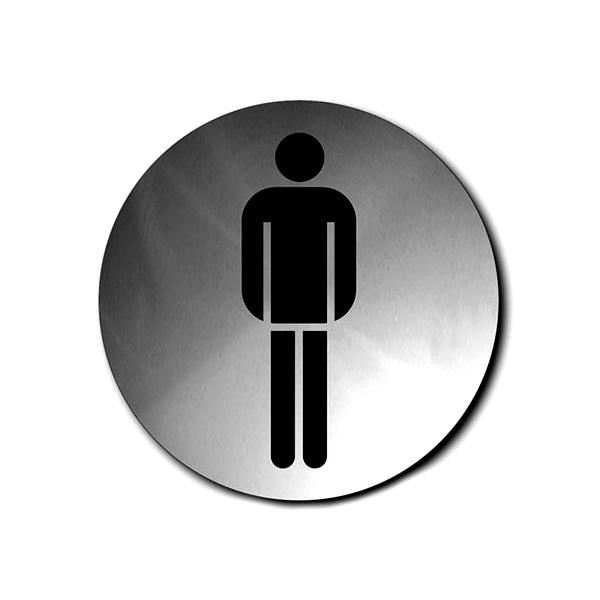 Szyld do WC męskiej okrągły Blomus Signo B68141