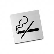 "Szyld Zack Indici ""zakaz palenia"""