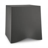 Taboret 42,8x40,6x41,6 cm Koziol BRIQ ciemny szary KZ-5788665