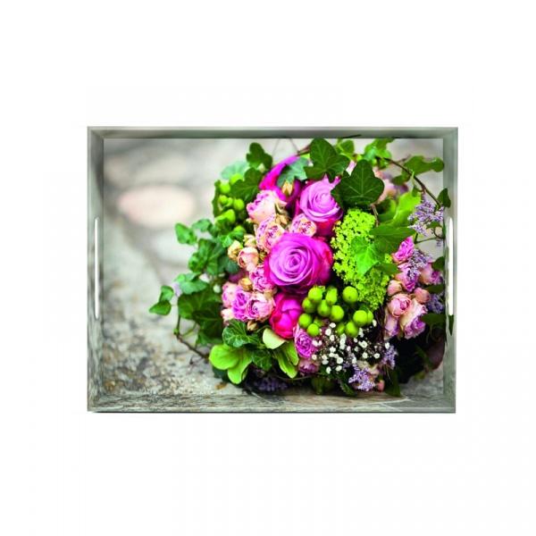 Taca 40 x 31 cm Emsa Classic Flower bouquet EM-513711