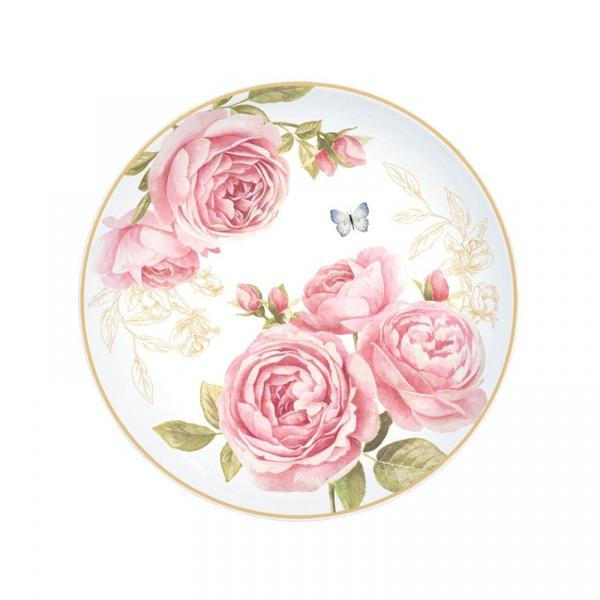 Talerz deserowy 19cm Nuova R2S Romantic 324 CATE