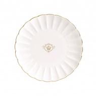 Talerz deserowy 19cm Nuova R2S Royale biały