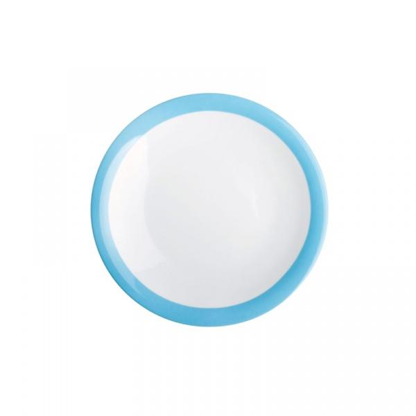 Talerz deserowy 21,5 cm Kahla Update Paint niebieski KH-323460A69099C