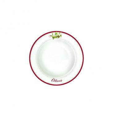 Talerz na zupę 21,5 cm Nuova R2S Bistrot Olives