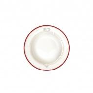 Talerz na zupę 21,5 cm Nuova R2S Bistrot Olives sztućce