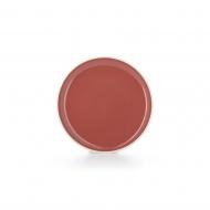 Talerz płaski 20 cm Amaranth red - Color Lab