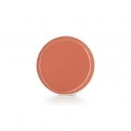 Talerz płaski 20 cm Capucine orange - Color Lab