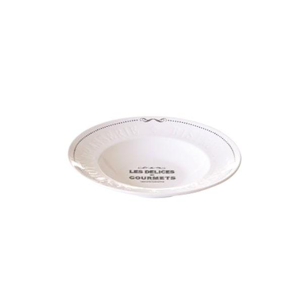 Talerz porcelanowy głęboki 30cm Nuova R2S Delices Gourmets 846 DEGO