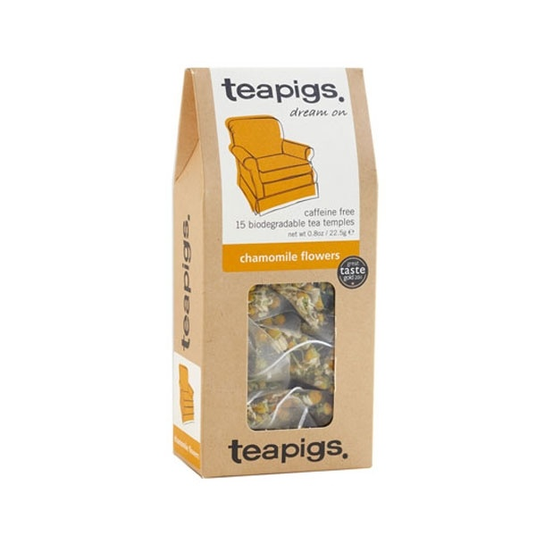 teapigs Chamomile Flowers 15 piramidek CD-14