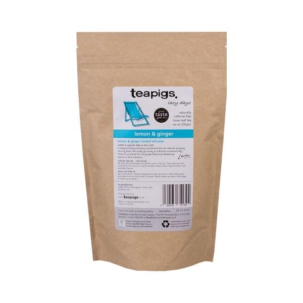 teapigs Lemon and Ginger herbata sypana 200g CD-1220