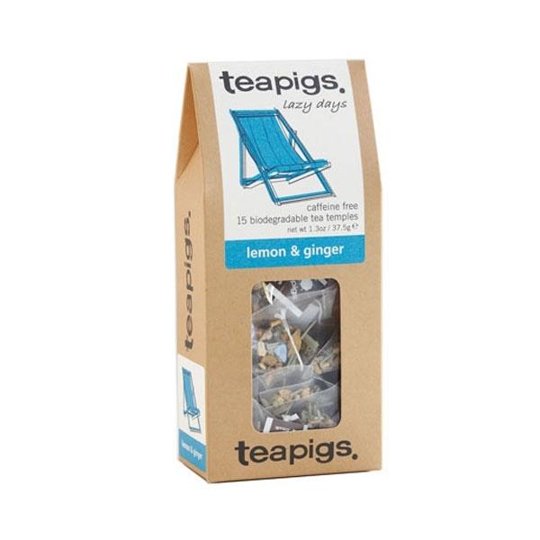 teapigs Lemon & Ginger 15 piramidek CD-20