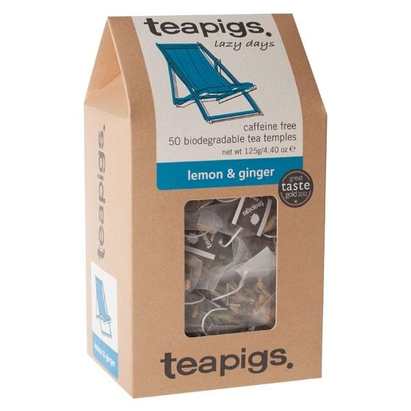 teapigs Lemon & Ginger 50 piramidek CD-4020