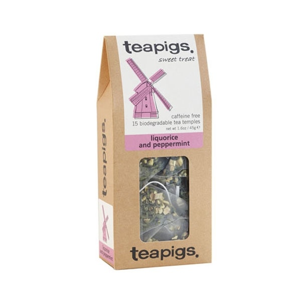 teapigs Liquorice & Peppermint 15 piramidek CD-22