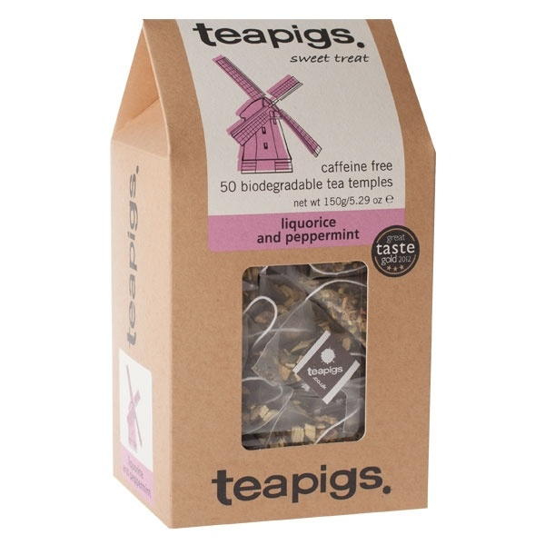 teapigs Liquorice & Peppermint 50 piramidek CD-4022