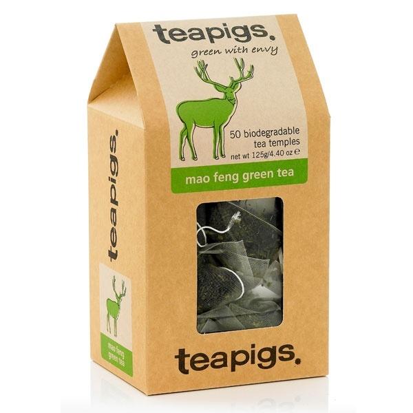 teapigs Mao Feng Green Tea 50 piramidek CD-4006