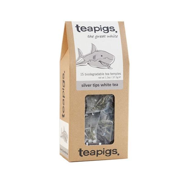 teapigs Silver Tips White 15 piramidek CD-10