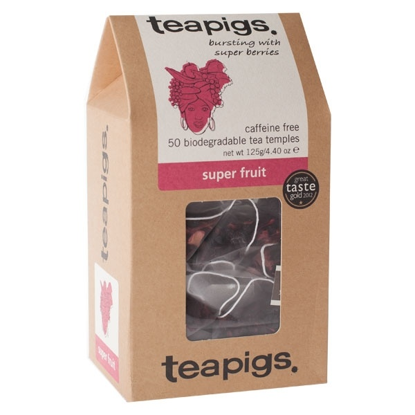 teapigs Super Fruit 50 piramidek CD-4016