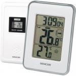 Termometr z bezprzewodowym czujnikiem do pomiaru temperatury Sencor SWS 25 WS