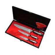 Tojiro Flash Zestaw 3 noży PA90+PA130+CH210