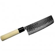 Tojiro Zen Hammered nóż Nakiri 16,5cm