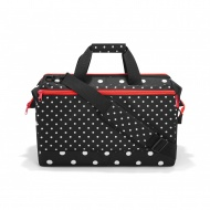 Torba allrounder L  pocket mixed dots