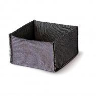 Torba na pieczywo 20x20x10 czarna
