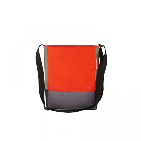 Torba Reisenthel Shoulderbag S patchwork mandarin HY3043