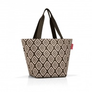 Torba shopper M diamonds mocha