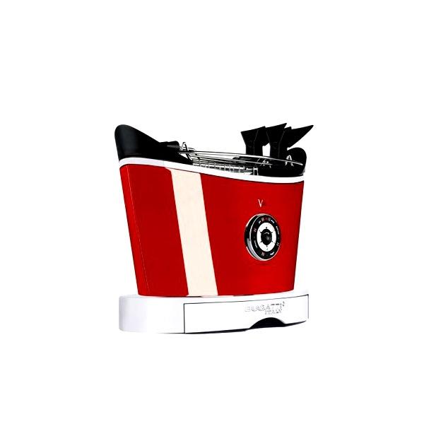 Toster Casa Bugatti Volo czerwony 13-VOLOC3